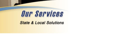 Our Services - State & Local Solutions